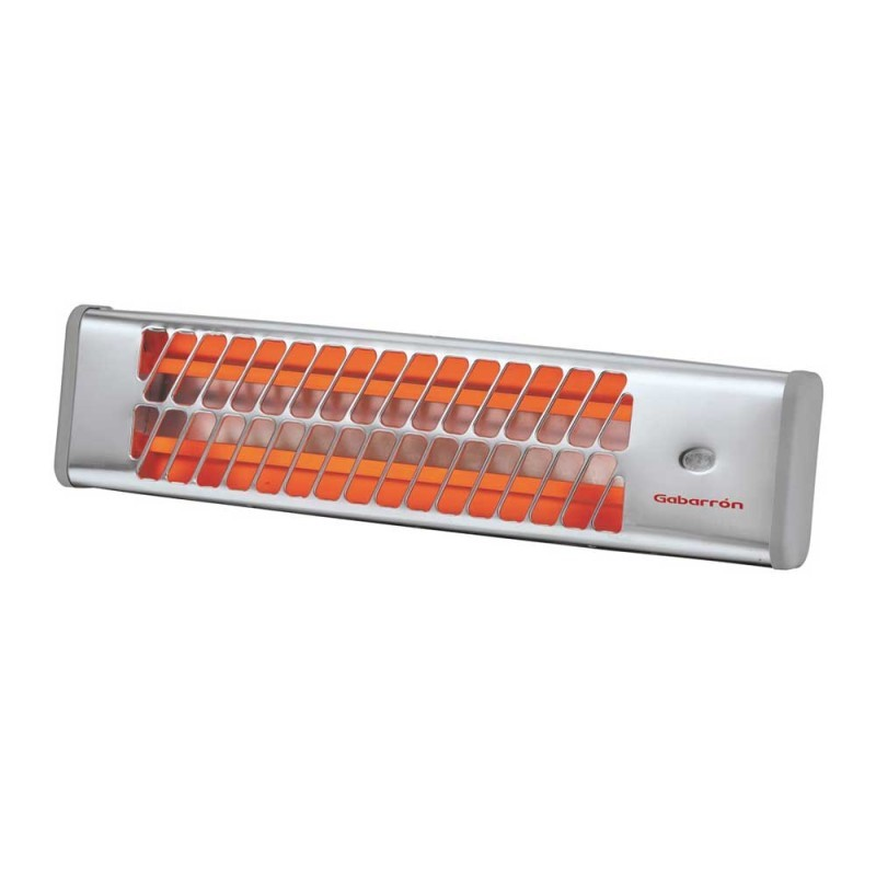 IC-1200 wall mounted infrared heater silver