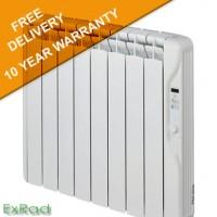 exRad Electric Radiators E8 PLUS 1000 Watt Slim Digital Oil Filled Radiator