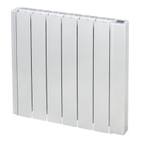 RD10W oil filled electric radiator front view