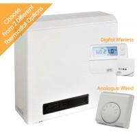 Elnur ADL2012 2kw Fan Assisted Night Storage Heater - Select External Thermostat