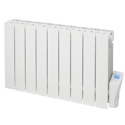 Low Height Oil Filled Digital Control Conservatory Electric Radiator 1500W Elnur RBC14