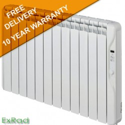 exRad Electric Radiators E12 PLUS 1500 Watt Slim Digital Oil Filled Radiator