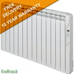 exRad Electric Radiators E14 PLUS 2000 Watt Slim Digital Oil Filled Radiator