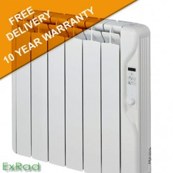 exRad Electric Radiators E6 PLUS 750 Watt Slim Digital Oil Filled Radiator