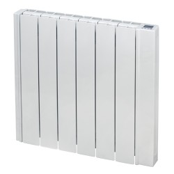 RD6W oil filled electric radiator front view