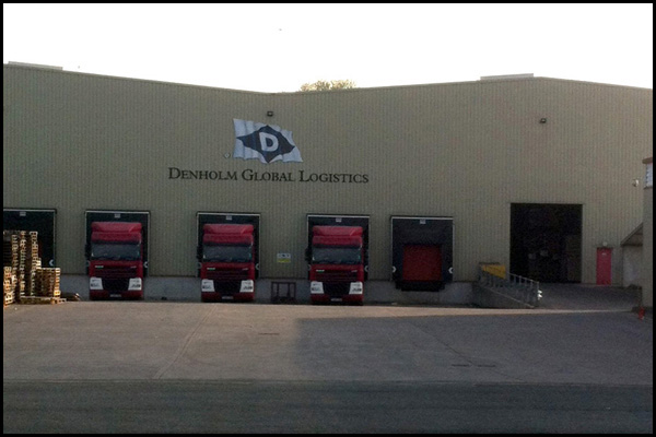 Denholm logistics warehouse