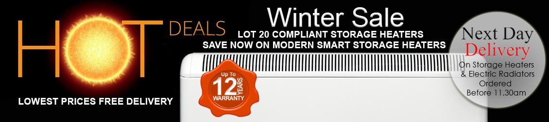 Smart Storage Heaters Summer Sale