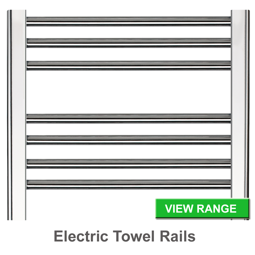 Towel radiators - Chrome or White