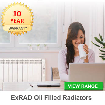 exrad oil filled electric radiators