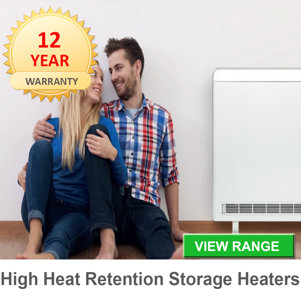 high heat retention storage heaters