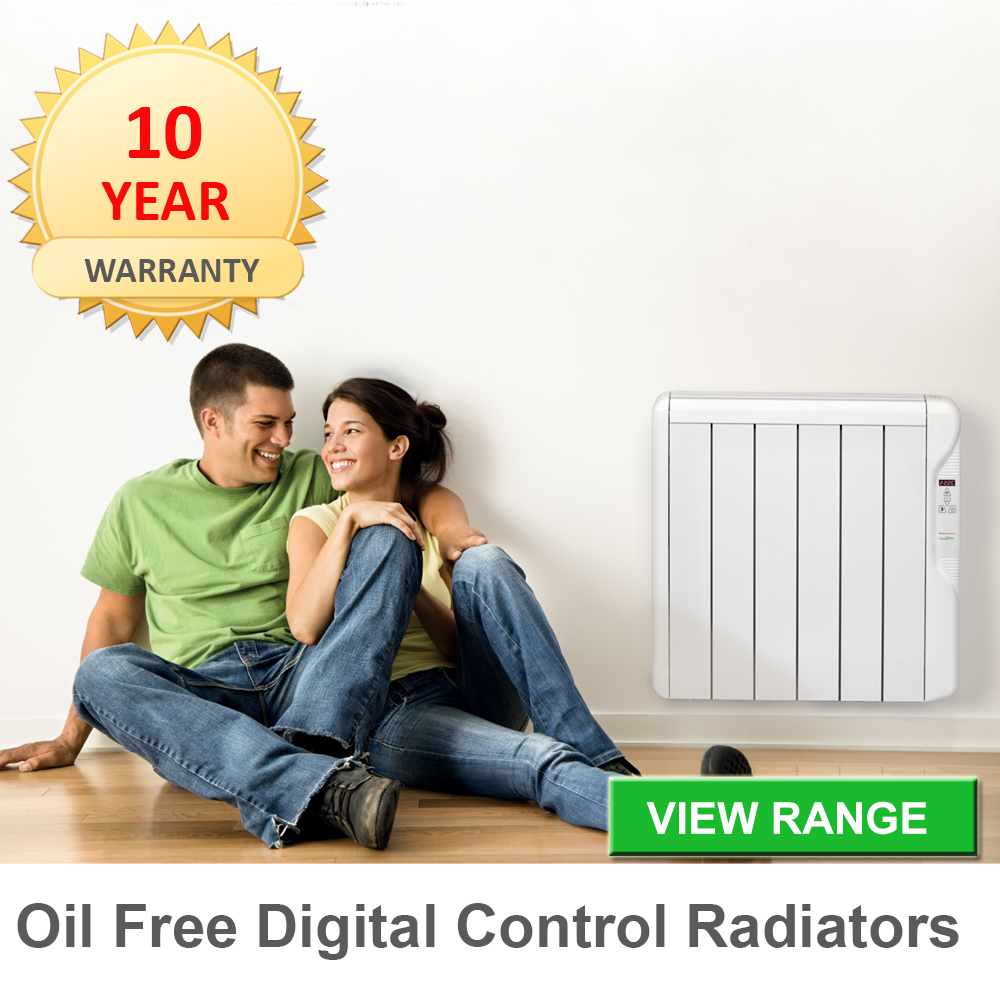 oil free digital radiators