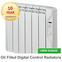Oil filled-radiators
