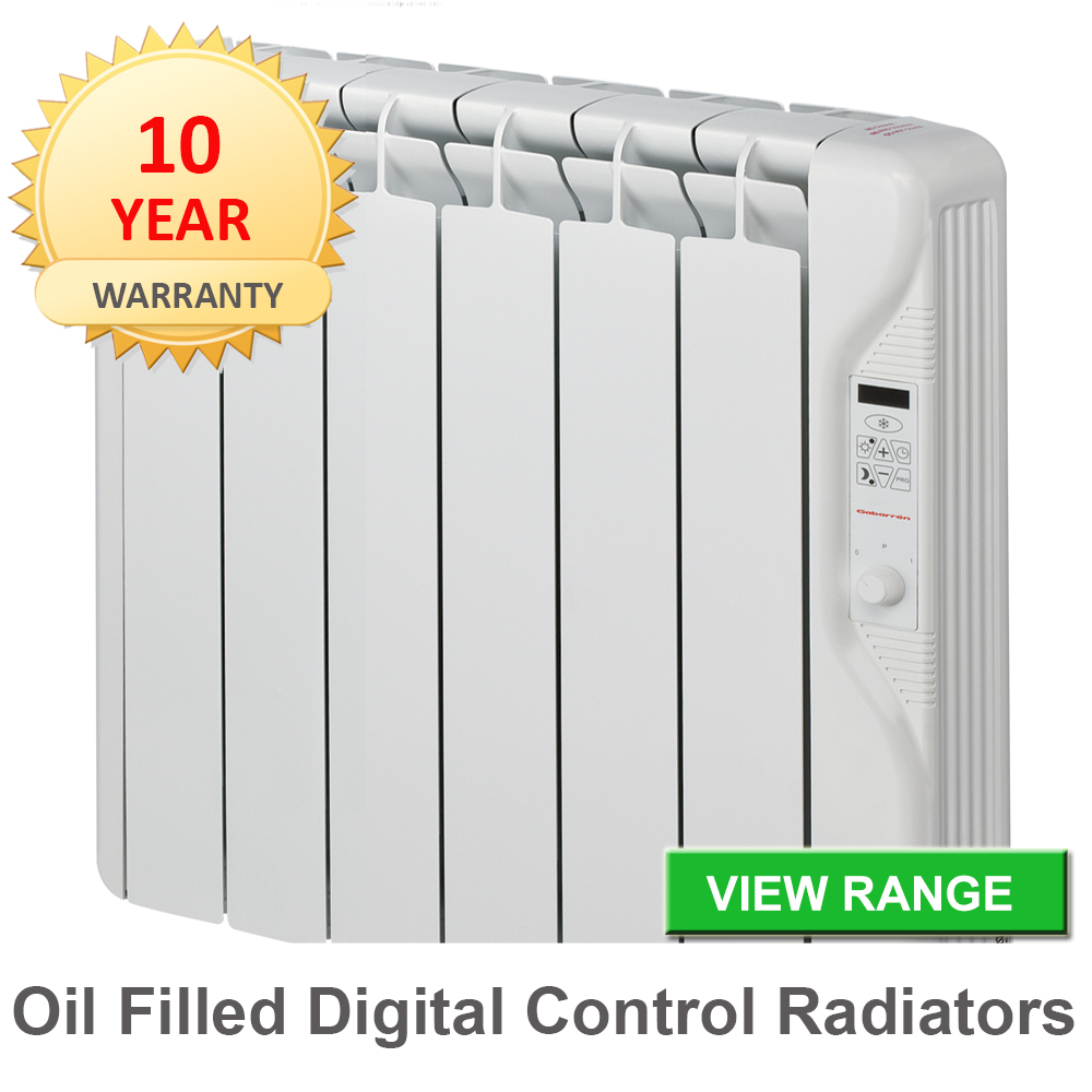 Oil filled-radiators