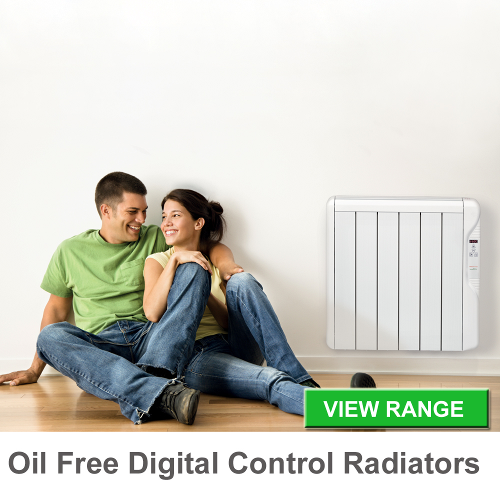 oil free digital radiators