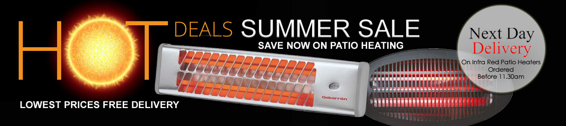infra red heaters summer sale