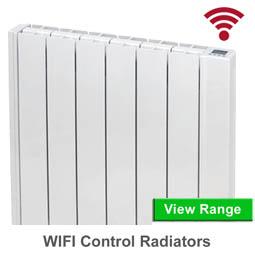 Wifi aluminium-electric-radiators
